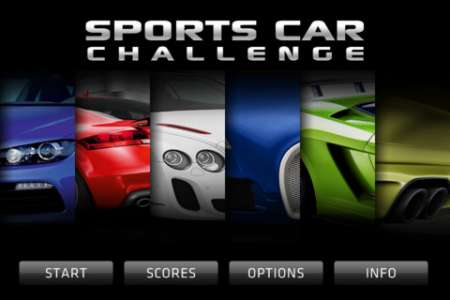 Sports Car Challenge v1.1 [.ipa/iPhone/iPod Touch]