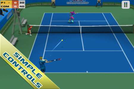 Cross Court Tennis v2.0