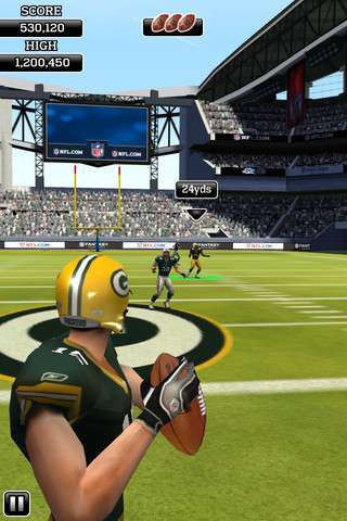 NFL Flick Quarterback v1.2 [.ipa/iPhone/iPod Touch]
