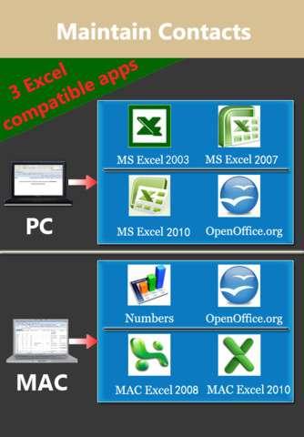 ExcelContacts v2.2 [Программы для iPhone]
