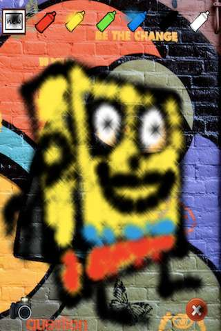 Graffiti - Spray Paint and Drawing v1.0 [.ipa/iPhone/iPod Touch]