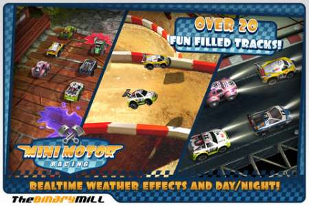 Mini Motor Racing v1.1.3 [.ipa/iPhone/iPod Touch]