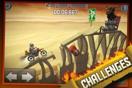 Bike Baron v1.5 [Игры для iPhone]