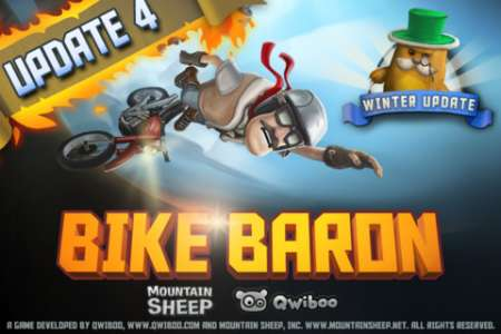 Bike Baron v1.5 [Игры для iPhone]