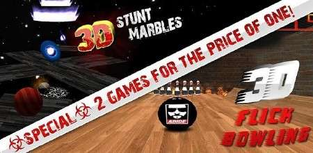 3D Stunt Marbles (3.0) [Аркада, ENG][Android]