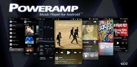 PowerAMP v.2.0.5.477 [Android 2.1+, RUS + ENG]