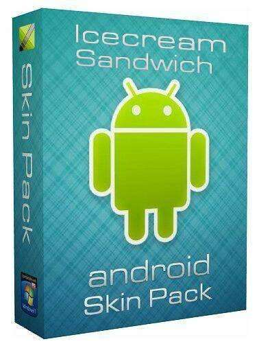 Android Icecream Sandwich Skin Pack 3.0 for Windows 7 (x32/x64) ML/Rus