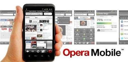 Opera Mobile v.11.5.5 + Opera Mini v.6.5.2 [Браузер, RUS] [Android]