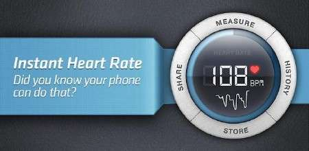 Instant Heart Rate - Pro (2.5.4) [Здоровье, ENG] [Android]