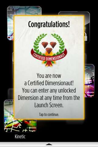 Dimensions. Adventures in the Multiverse v1.6 [.ipa/iPhone/iPod Touch]