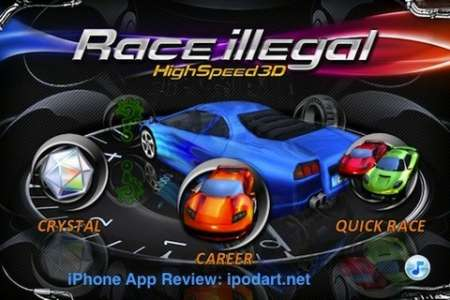 Race illegal: High Speed 3D v1.1 [.ipa/iPhone/iPod Touch/iPad] [Chillingo Ltd]