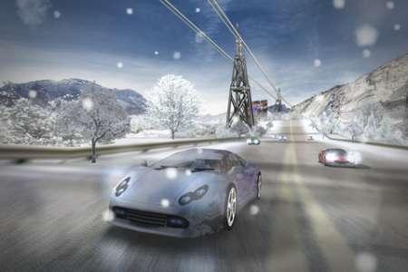 Race illegal: High Speed 3D v1.1 [.ipa/iPhone/iPod Touch/iPad] [Chillingo Ltd]