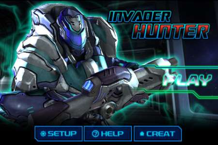 Invader Hunter v1.1 [.ipa/iPhone/iPod Touch]
