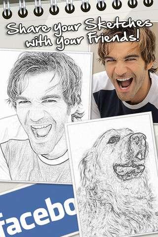 Sketch Me! v1.92  [Программы для iPhone]