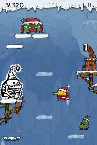 Doodle Jump Christmas Special v1.2.1 [.ipa/iPhone/iPod Touch/iPad]