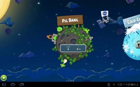 Angry Birds Space (Android 1.6+)