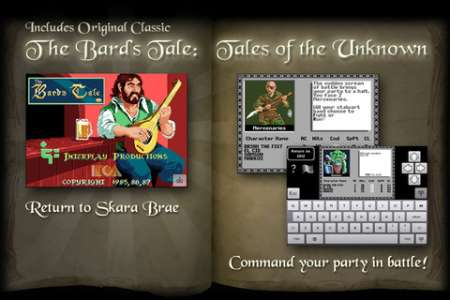 The Bard's Tale v1.4 [.ipa/iPhone/iPod Touch]
