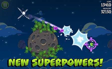 Angry Birds Space - Продолжение злых птичек для Android