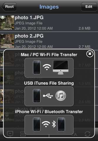 Phone Drive (+File Sharing) v2.1.1 [RUS] [.ipa/iPhone/iPod Touch/iPad]