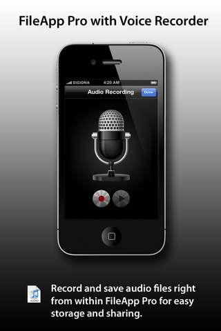 FileApp Pro [3.0.2] [Программы для iPhone/iPod Touch/iPad]