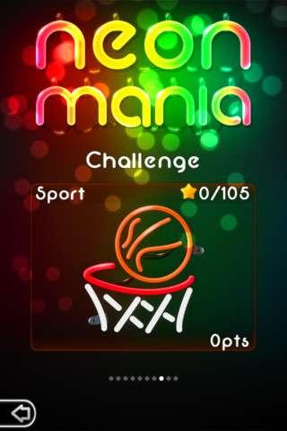 Neon Mania v1.7.3 [.ipa/iPhone/iPod Touch/iPad]
