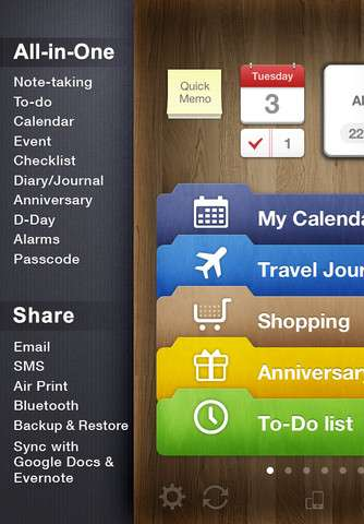 Awesome Note (+To-do/Calendar) v6.01 [RUS] [.ipa/iPhone/iPod Touch]
