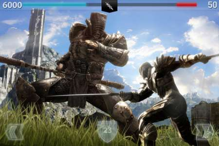 Infinity Blade II v1.1 [RUS] [.ipa/iPhone/iPod Touch/iPad]