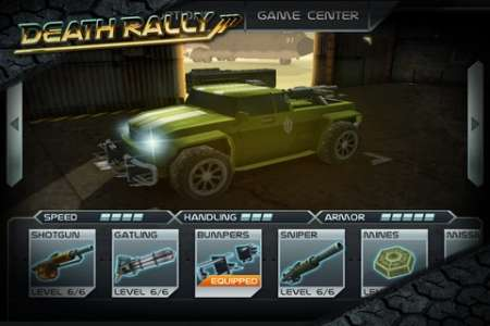 Death Rally [2.3.2] [Игры для iPhone/iPad]