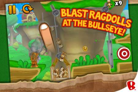 Ragdoll Blaster 3 v1.2.1 [.ipa/iPhone/iPod Touch]