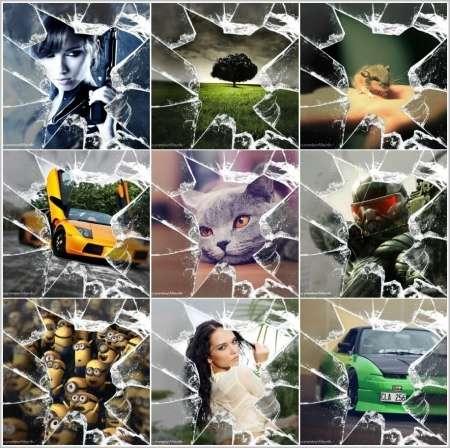 Разбитое стекло (640х640)