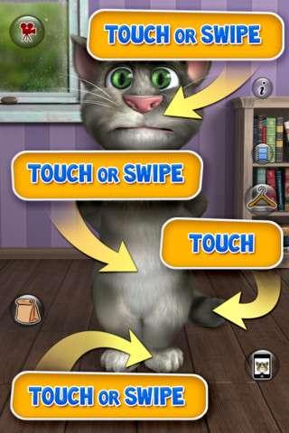 Talking Tom Cat 2 (Говорящий кот Том 2) v3.0 [RUS] [.ipa/iPhone/iPod Touch]