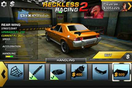 Reckless Racing 2 v1.0.3 [Игры для iPhone]