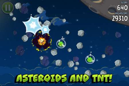 Angry Birds Space v1.1.0 [Игры для iPhone + iPad]