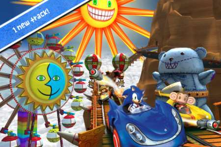 Sonic & SEGA All-Stars Racing v1.2 [.ipa/iPhone/iPod Touch/iPad]