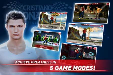 Cristiano Ronaldo Freestyle Soccer v1.1.1 [.ipa/iPhone/iPod Touch]