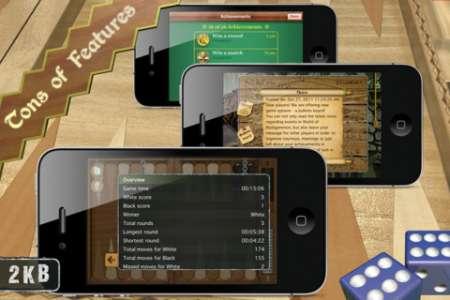 Мастера нард (Backgammon Masters) v1.4.4 [RUS] [.ipa/iPhone/iPod Touch/iPad]