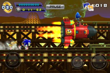 Sonic The Hedgehog 4™ Episode II v1.00 [.ipa/iPhone/iPod Touch/iPad] [SEGA]