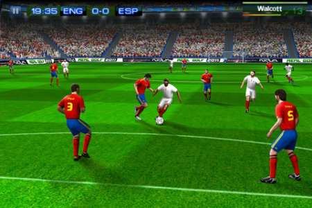 Real Football 2011 / Real Soccer 2011 v1.0.4 [.ipa/iPhone/iPod Touch]
