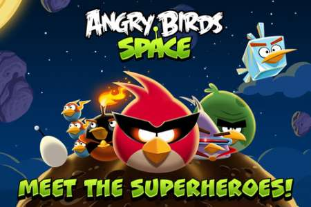 Angry Birds Space v1.2.0 [Игры для iPhone + iPad]