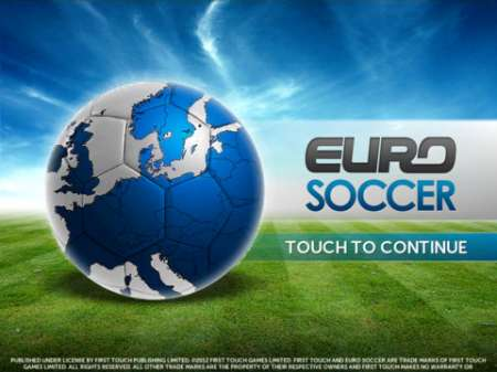 Euro Soccer v1.0 [.ipa/iPhone/iPod Touch/iPad]