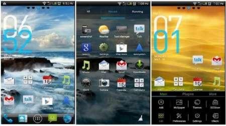 HTC Sense ICS - тема для Android