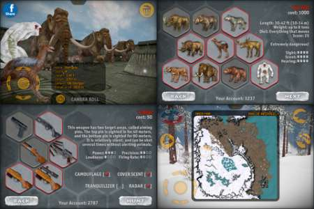 Carnivores: Ice Age v1.4 [.ipa/iPhone/iPod Touch/iPad]